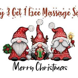 Buy 3 Get 1 Free Massage Sale